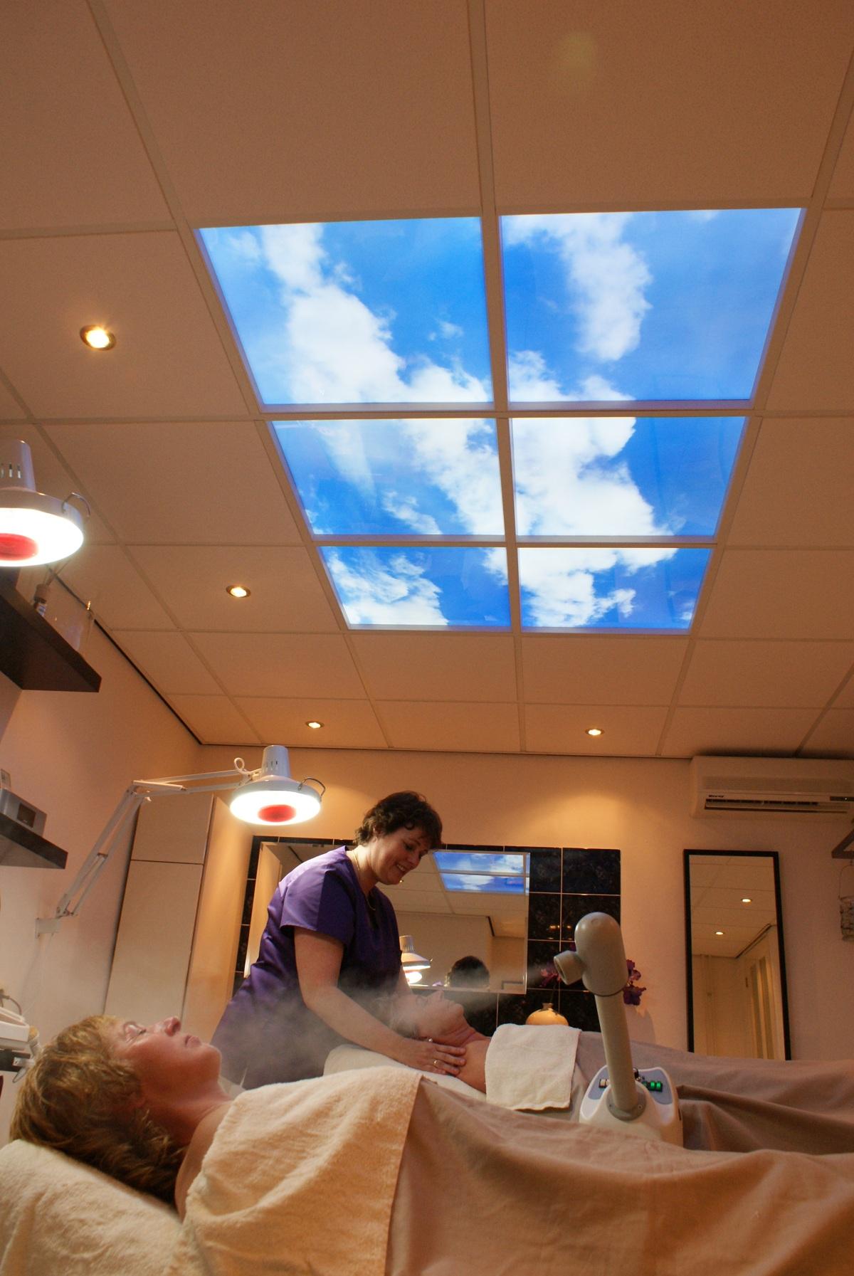 Ciel artificiel LED commerce