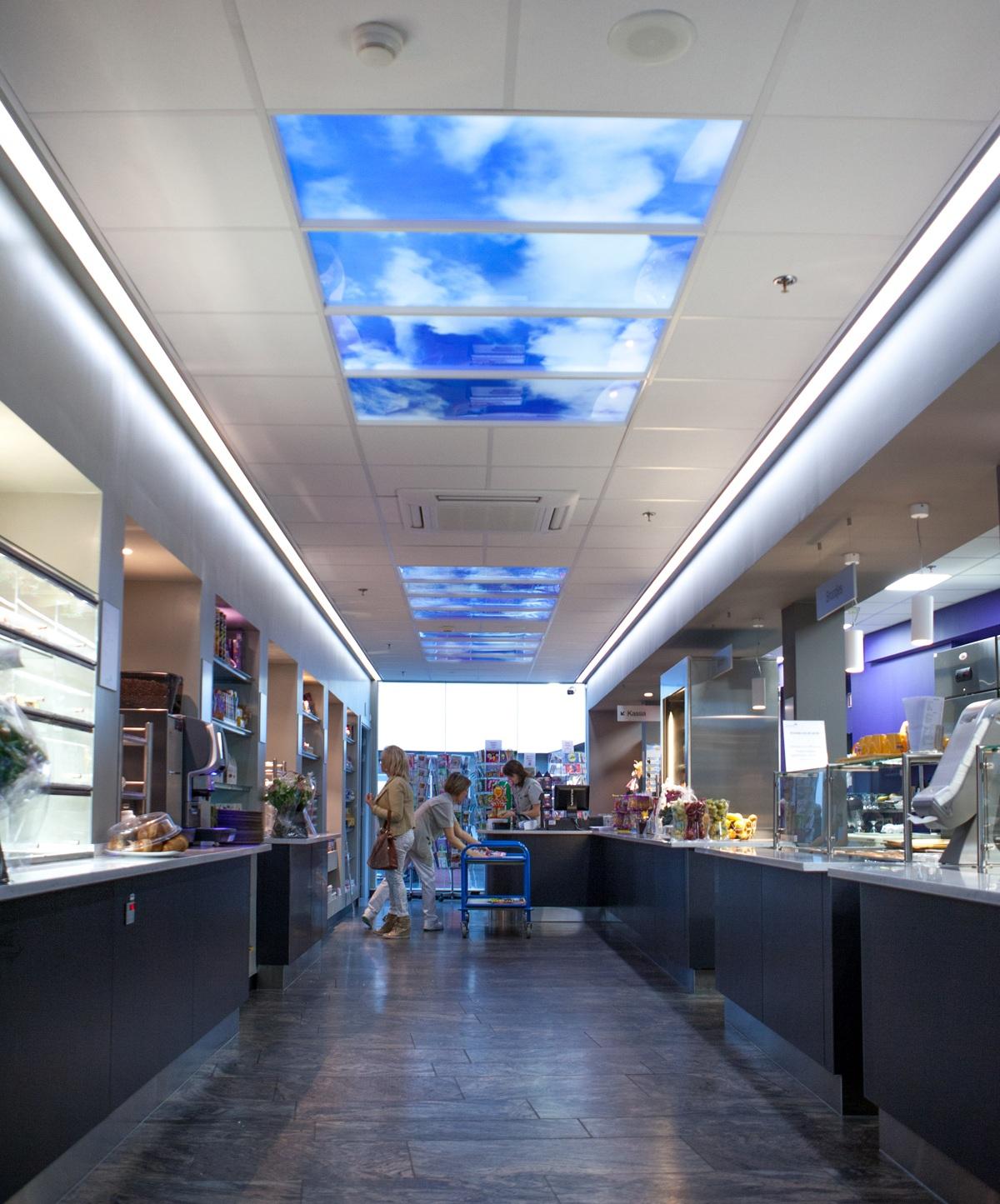 Panneaux LED lumineux commerce