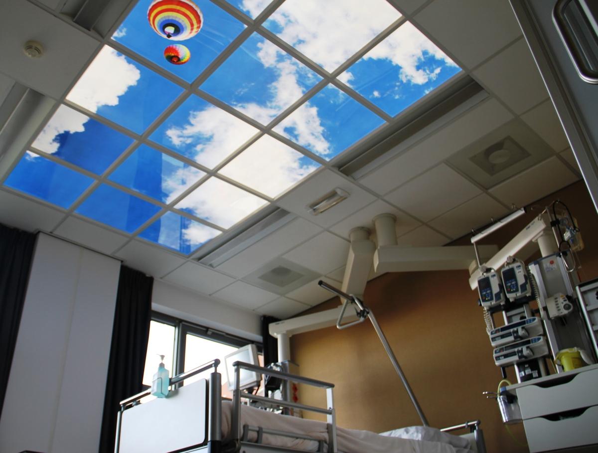 panneaux LED lumineux médical